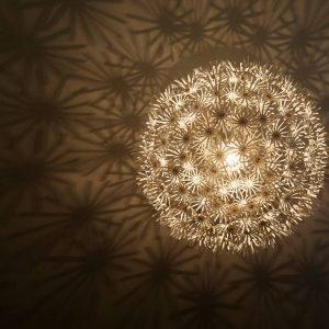 Yoga Raum Lampe